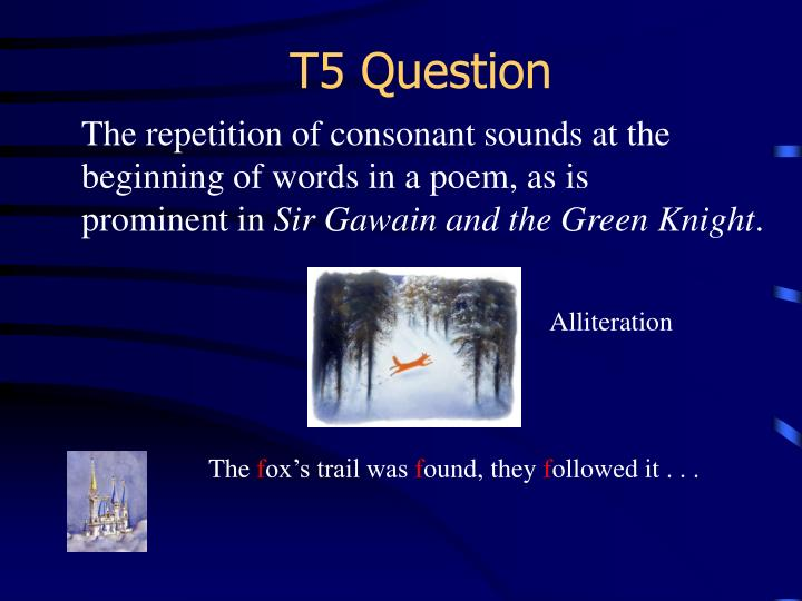 T5 Question