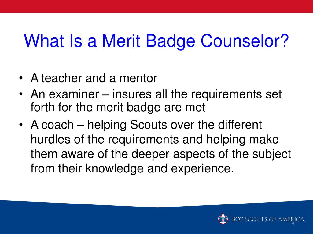 PPT - MERIT BADGE COUNSELOR TRAINING (updated 21 May 12
