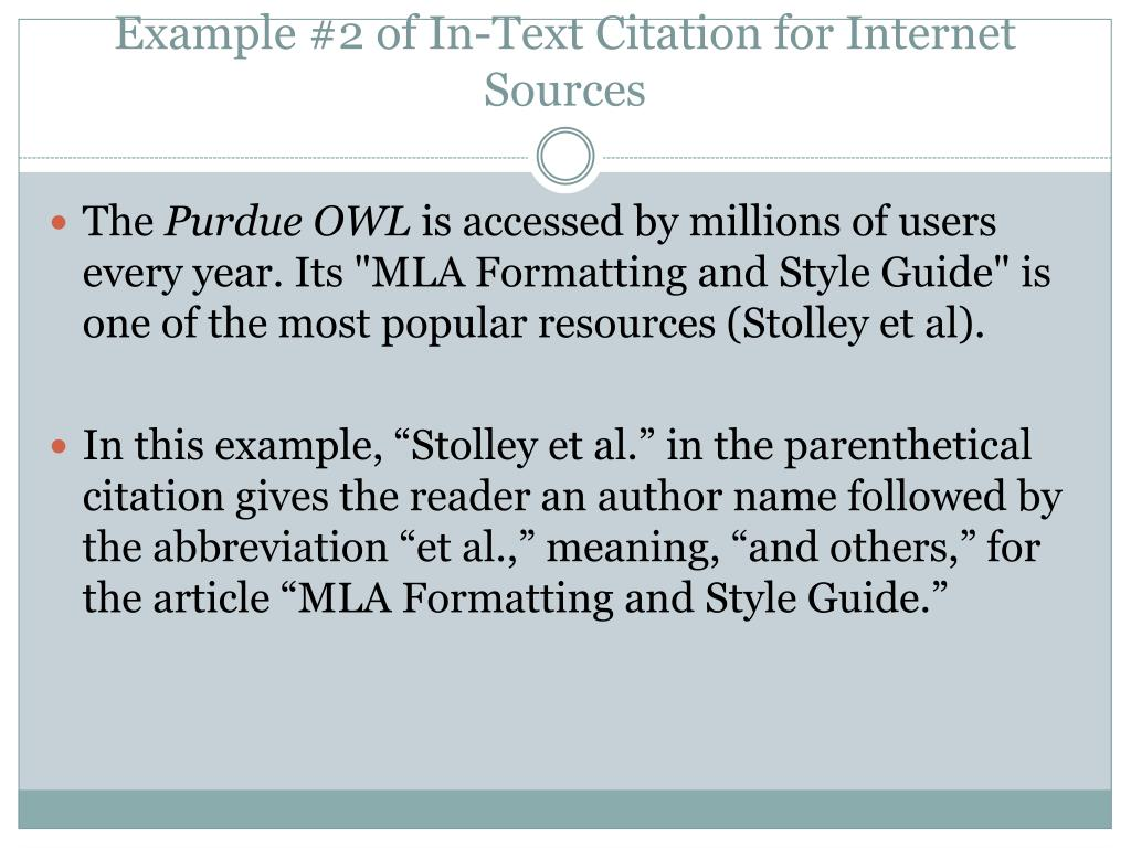 PPT - In-Text Citation PowerPoint Presentation - ID:2742220