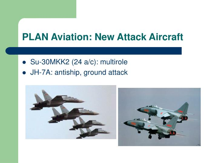 PLAN Aviation: New Attack Aircraft