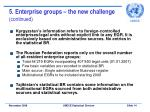 5 enterprise groups the new challenge continued