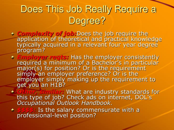 Does This Job Really Require a Degree?