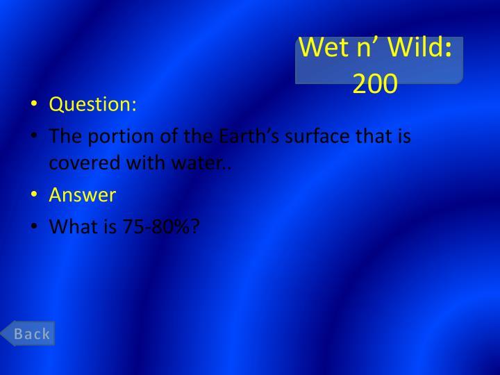 Wet n wild 200