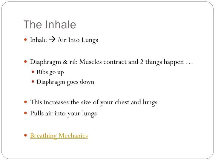 The Inhale