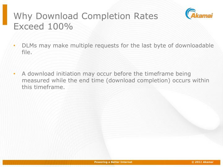 Why Download Completion Rates Exceed 100%