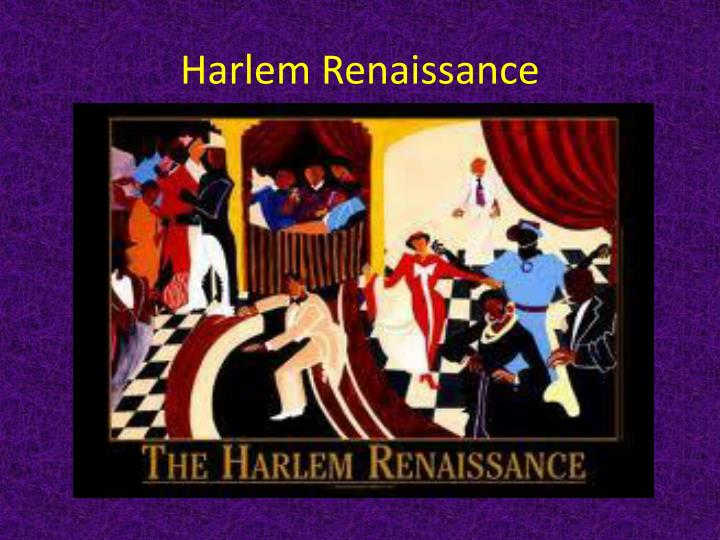 the emergence of the black intelligencia during the harlem renaissance and its impact Free essys, homework help, flashcards, research papers, book report, term papers, history, science, politics.