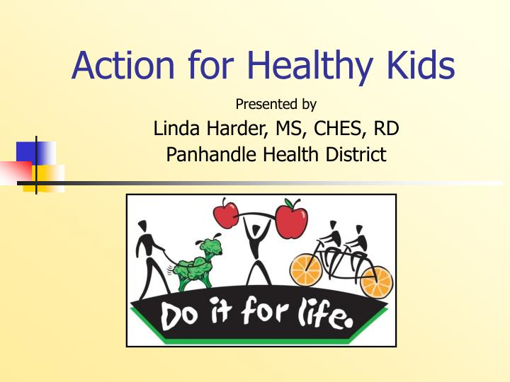 action for healthy kids n.