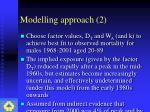 modelling approach 2