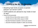 copd the air we breathe