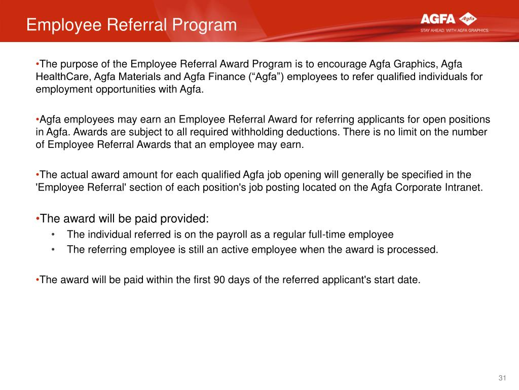 PPT - Welcome to Agfa Corporation! PowerPoint Presentation
