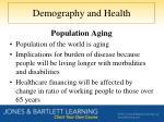 demography and health1