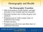 demography and health4