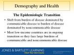 demography and health5