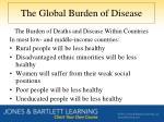 the global burden of disease3