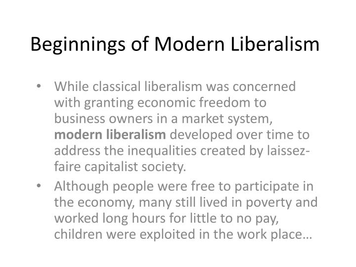 PPT - To what extent did classical liberalism meet the ...