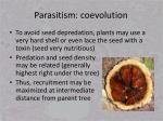 parasitism coevolution7