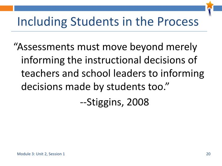 Including Students in the Process