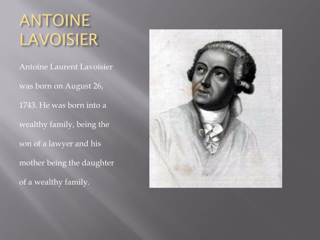 Ppt Antoine Lavoisier Powerpoint Presentation Id2743869