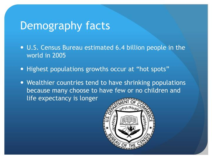 Demography facts