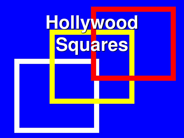 Ppt Hollywood Squares Powerpoint Presentation Id2744288