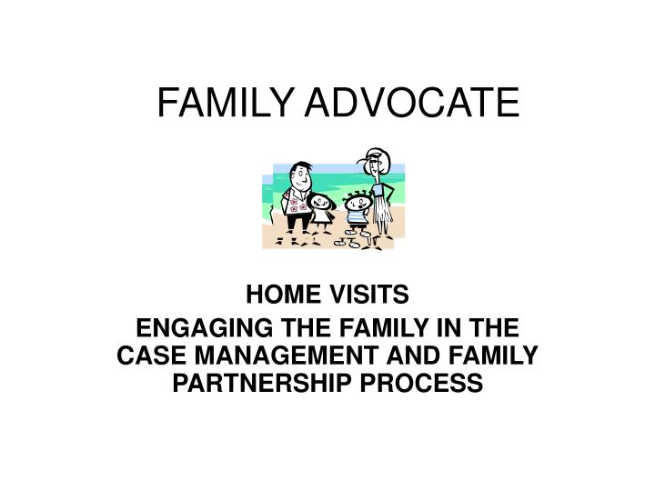 family advocate n.