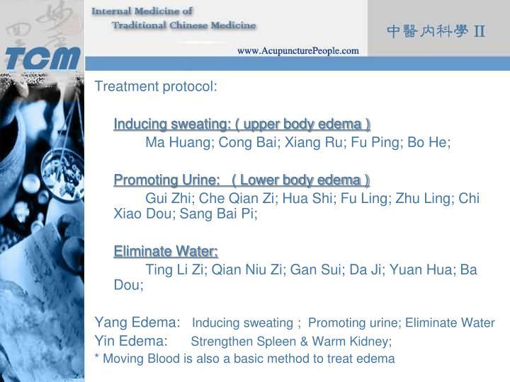 Treatment protocol: