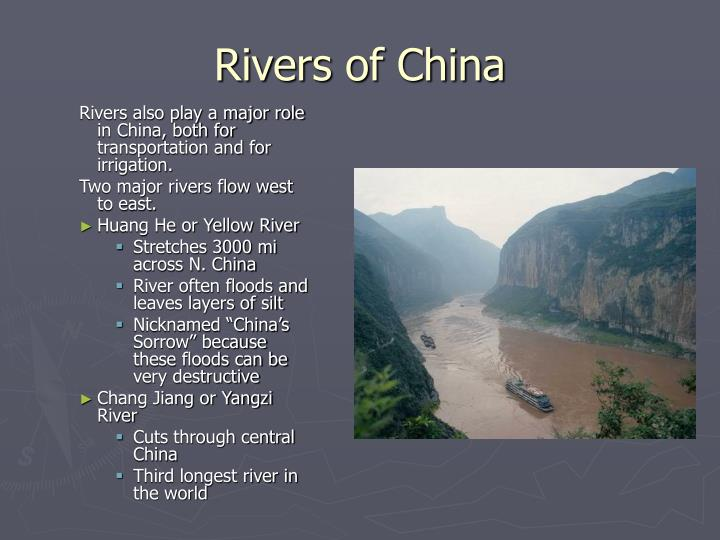 Rivers of China