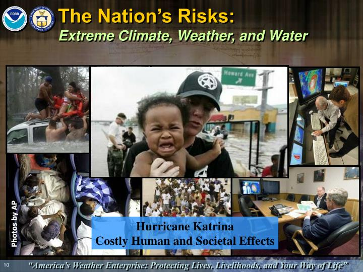 The Nation's Risks: