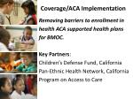 coverage aca implementation