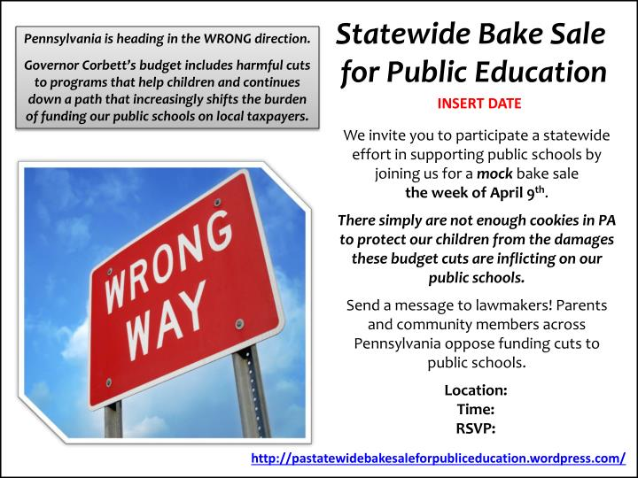 Statewide Bake Sale