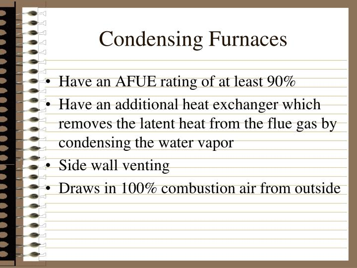 Condensing Furnaces