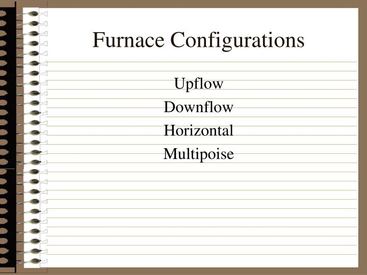 Furnace Configurations