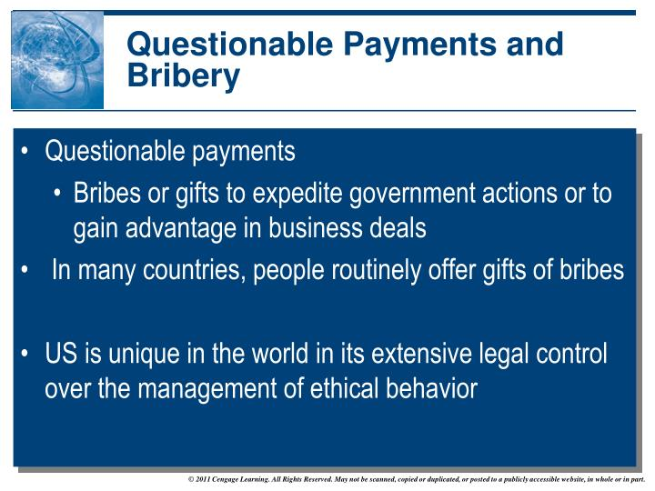 bribery and ethical theories This is where we apply different theories to life ethical theories self interest theories/ethical egoism: deontological theories/duty ethics: bribery, kick.