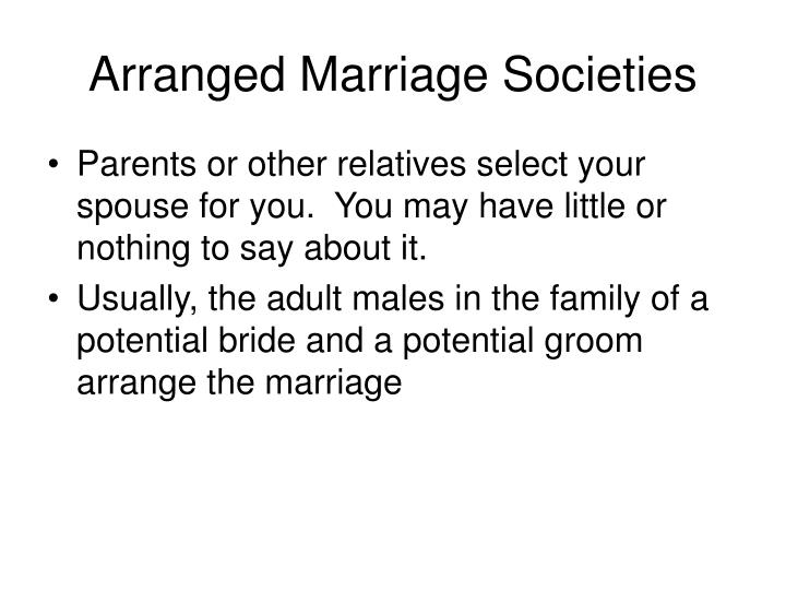 an argument that arranged marriages are a social injustice Child marriage is any formal marriage or informal union where one or both of the parties are under 18 years of age each year, 12 million girls are married before the age of 18 that is 23 girls every minute.