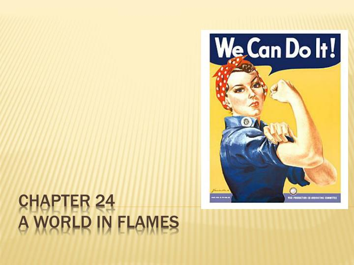 chapter 24 a world in flames n.