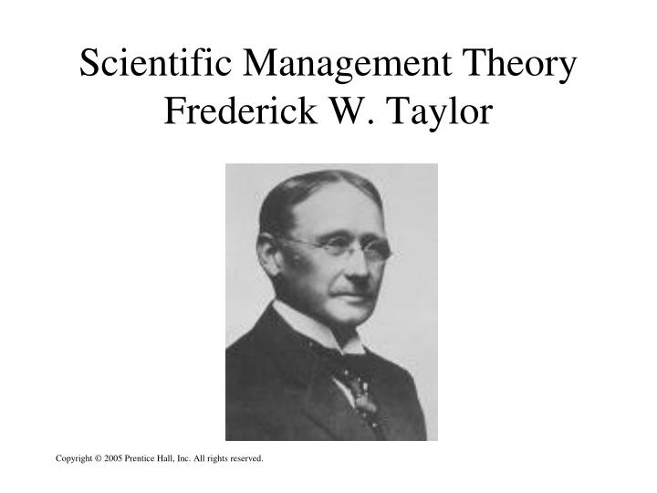 an analysis of the scientific management theories deriving from the early 20th century Scientific management is a theory of management that analyzes and synthesizes workflows it was one of the earliest attempts to apply science to the engineering of processes and to flourishing in the late 19th and early 20th century, scientific management built on earlier pursuits of economic.
