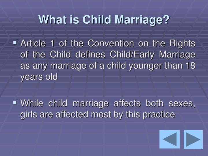 Early marriages ppt.