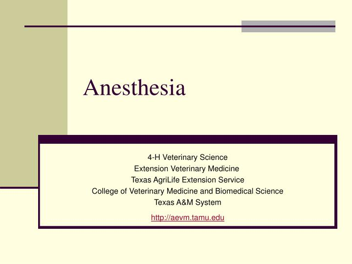 anesthetics history and essay 4 types general anesthesia r 30092012 general anaesthetics can be given in a number of ways  medical history,  types of surgery.