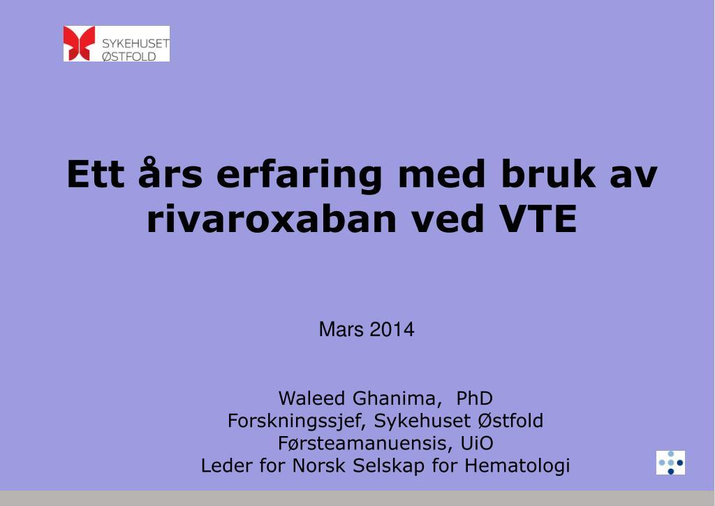 norsk selskap for hematologi