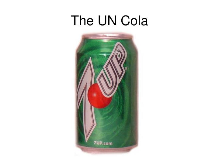 The UN Cola