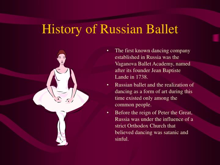 History of russian ballet