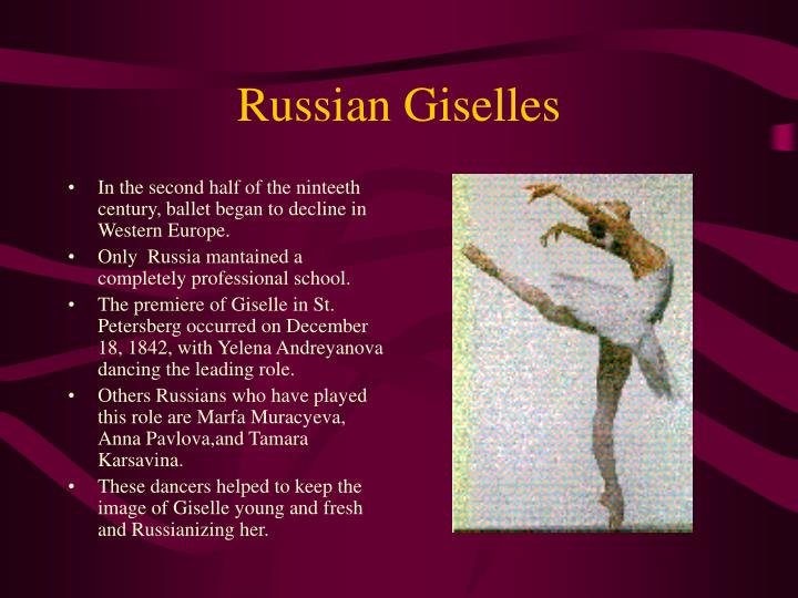 Russian Giselles