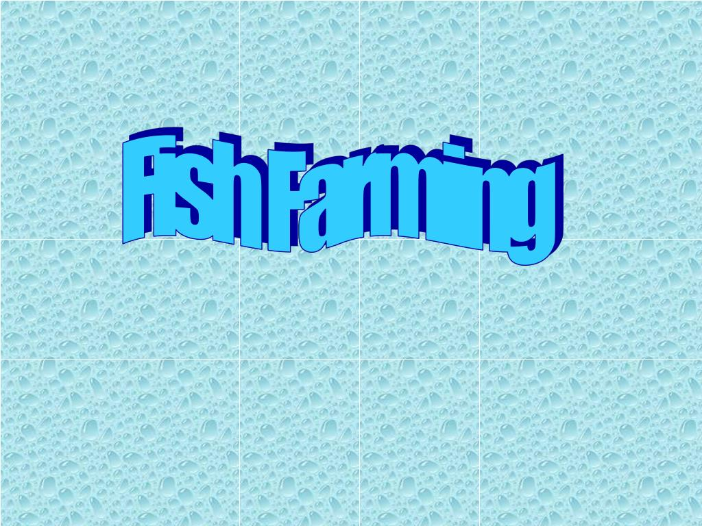 PPT - Fish Farming PowerPoint Presentation - ID:2746478
