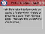 interference types2