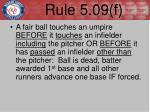 rule 5 09 f2