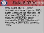rule 6 07 c