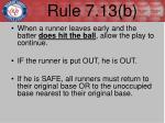 rule 7 13 b