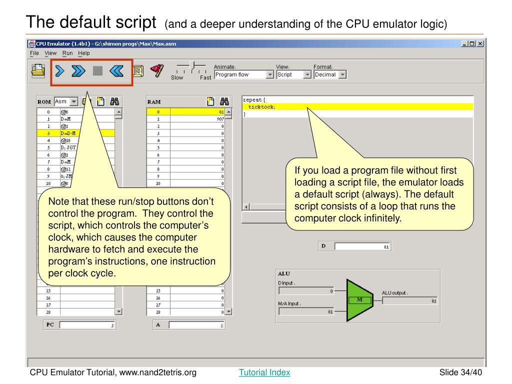 PPT - CPU Emulator Tutorial PowerPoint Presentation - ID:2746558