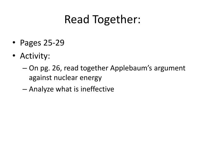 Read Together: