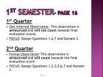 1 st semester page 16